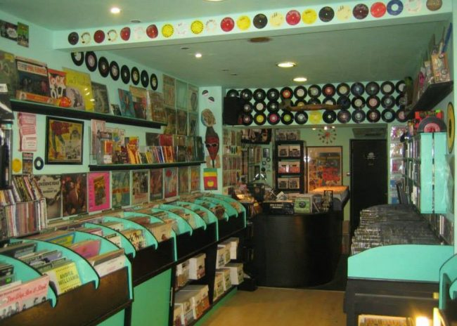 The Sounds That Swing shop in Camden, is the offline home of No Hit Records